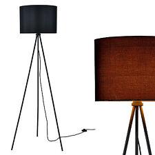 [lux.pro] Stehleuchte [H:155cm] Stehlampe Standleuchte Bodenlampe Lampe Schwarz