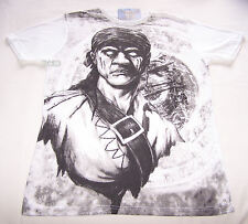 Disney Pirates Of The Caribbean Mens White Pirate T Shirt Size M New