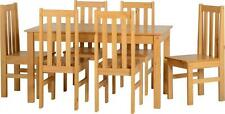 Ludlow Contrasting Oak Dining Set with 6 Chairs