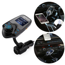 FM Transmitter Bluetooth Car Kit MP3 USB Charger Handsfree for iPhone Samsung S6