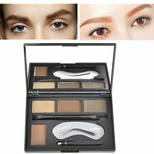CIBBCCI Augenbraue Eyebrow Palette Getönt Braue Powder Kit Tinted Brow Make Up