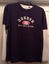 Reebok Dark Blue With White Long Sleeve Casual Top Aged 14-16