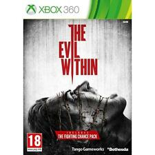 Microsoft Xbox 360-THE EVIL WITHIN  GAME New & Sealed Free P&P UK