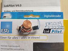 ESU 54684 LokPilot Micro Decoder V4 DCC Kabel + 6-polig Stecker NEU OVP