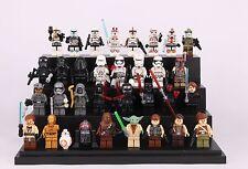 32pcs Star wars Clone Trooper Darth Yoda C-3P0 BB8 Custom Mini Figure Fits Lego