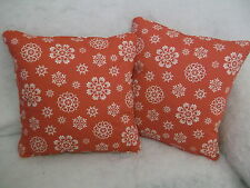 LACE SNOWFLAKES BY JOHN LEWIS 1 5.1x45.7cm CUSHION COVERS DOUBLE SIDED & PIPED