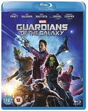 BLU-RAY MARVEL GUARDIANS OF THE GALAXY   BRAND NEW SEALED UK STOCK