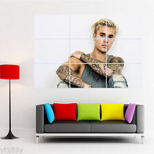 Justin Bieber Poster Giant Wall Decal Art