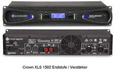 Crown XLS 1502 Endstufe PA-Verstärker mit sehr geringem Gewicht 2x525 Watt@4 ohm
