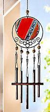 Traumhaftes Mobile Windspiel klangspiel  Metall Glas fensterdeko Suncatcher