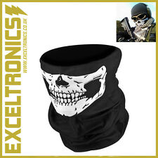SKELETON GHOST SKULL FACE MASK BIKER BALACLAVA HALLOWEEN FANCY DRESS COSTUME