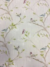 Volary Grey Fabric Printed For John Lewis By the Metre