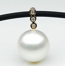 $1,399 Pacific Pearls® AA 12mm Australian South Sea pearl Pendant