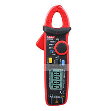 UNI-T UT210E Handheld True RMS AC/DC Current Clamp Meters Capacitance Tester TA