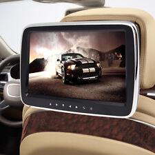 """HD 10"""" LCD Digitl Screen Car USB/SD MP3 MP5 IR/FM Media Player Headrest Monitor"""