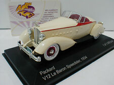 Whitebox WB178 # Packard V12 Le Baron Speedster Baujahr 1934 in creme beige 1:43