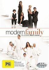 MODERN FAMILY - SEASON 3, THE COMPLETE (3 DVD SET) BRAND NEW!!! SEALED!!!