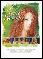 CELTIC WOMAN - THE GREATEST JOURNEY : ESSENTIAL COLLECTION R4 DVD ~ IRISH *NEW*