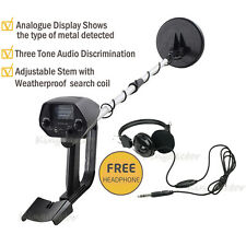 MD-4030 Metal Detector w/ Waterproof Coil Hunter Treasure Search Free Headphone