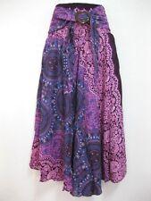 Women Sarong Long Skirt coconut Hippie Gypsy Lagenlook Bohemian Boho Smock Thai