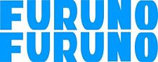 Furuno Stickers 2 x 275 x 50 quality stickers made from Avery marine vinyl