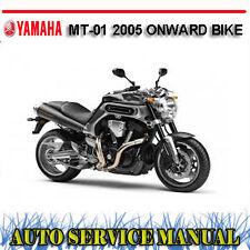 YAMAHA MT-01 2005 ONWARD BIKE WORKSHOP SERVICE REPAIR MANUAL ~ DVD