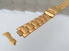 Accurist Stainless Steel Watch Strap Gold plated 20mm High quality Genuine