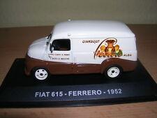"""Atlas Fiat 615 """"Ferrero"""" Transporter Lieferwagen Baujahr 1952, 1:43"""