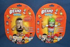 Moose's Mighty Beanz BendEms Brawl & Deejay Figures Original Series Spin Master