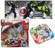 Marvel Avengers Pop Up Game Ludo Fun Party Family Board Kids Children Games Gift