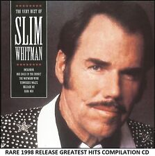 Slim Whitman Very Best Greatest Hits Collection RARE CD Country Easy Listening