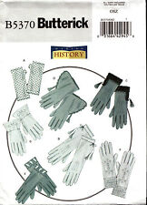 Butterick Pattern B5370 5370 Making History Historical Gloves NEW