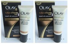 2 x Olay Total Effects Eye With Touch Of Concealer 15ml Each