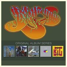 YES ''ORIGINAL ALBUM SERIES'' 5 CD BOX NEU & OVP