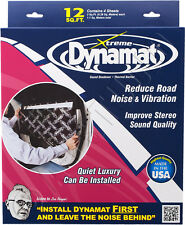 DYNAMAT 10435 XTREME/EXTREME CAR DOOR KIT SOUND DAMPING DEADENING 4 SHEET 12 FT²