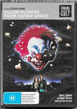 Killer Klowns From Space Dvd (1988)New & Sealed Region 4 Free Post