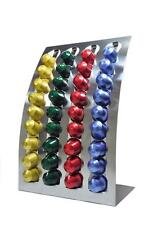 NEW Nespresso Coffee Capsules Pod Holder Stand/Dispenser Stainless Steel