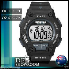 "Timex Men's ""Ironman Triathlon"" 30-Lap Resin Watch T5K196 -- Free Post in AU"