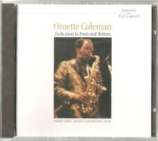 ORNETTE COLEMAN : DEDICATION TO POETS AND WRITERS / CD - NEU