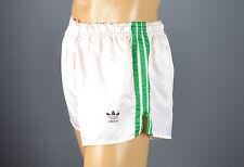 ADIDAS Glanz Nylon Shorts!!!  Vintage Short Sporthose Weiß-Gr.:L-7       (1217)