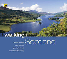 WALKING IN SCOTLAND HARD BACK BOOK ★AA SERIES★ Hiking Camping Map Route Guide