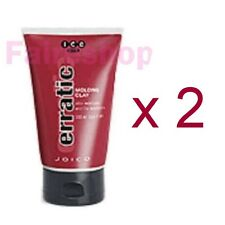 Joico ICE Erratic Hair Styling Molding Clay Paste Curls Dreads Matte 100ml x 2