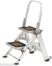 2 step Little Giant Safety Step Ladder jumbo 10210B