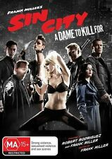 Sin City 2 - Dame To Kill For (DVD, 2015) Very Good Region  4