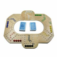 Brändi Dog Spiel für 2-6 Spieler - das Orginal aus Holz - Neu