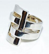 Damen Ring 925/- Sterlingsilber Modern 8 Design Blickfang