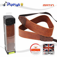 New Genuine Matin Etshaim M-7544 Vintage-38 Camera Strap (Tan)