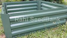 NEW Galvanised Steel Raised Garden Bed 900X900X300mm Planter Box $34.95