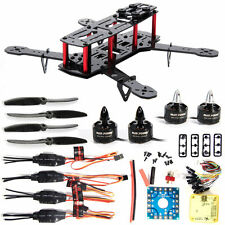 DIY 3K Carbon Fiber Mini 250 FPV Quadcopter Frame Motor ESC Flight Control RC005