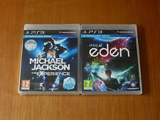 Child of Eden & M Jackson Experience, PS3 - Move Compatible - Brand New & Sealed